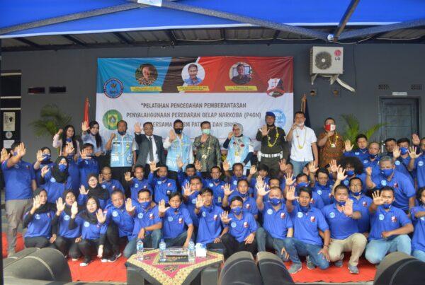 BNN Kabupaten Bogor Berikan Sosialisasi pada KSM Patroli