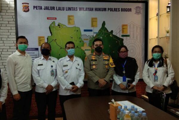Hari Pertama Kerja; Kepala BNN Kabupaten Bogor Kunjungi Polres Bogor