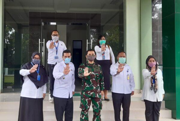 Kepala BNN Kabupaten Bogor Kunjungi Dandim 0621