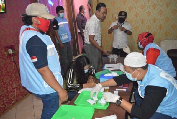 BNN Kabupaten Bogor adakan razia tempat Hiburan Malam jelang Akhir Tahun