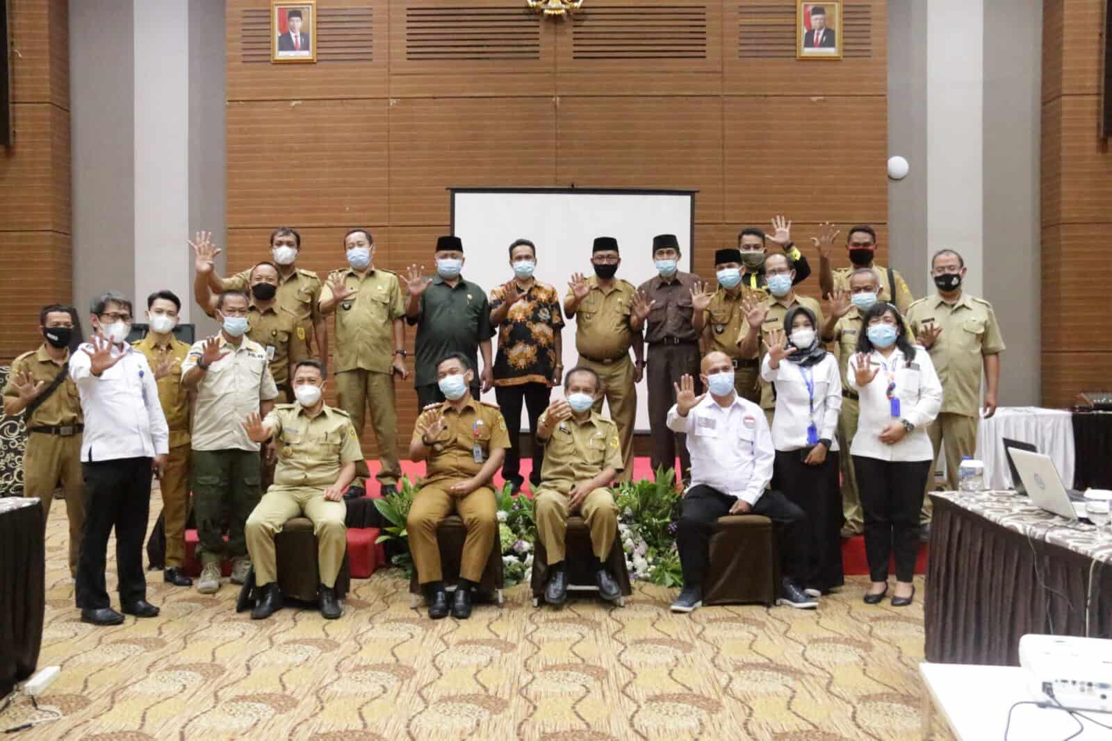 BNN Kabupaten Bogor tunjuk Sepuluh Desa/Kelurahan sebagai Desa/ Kelurahan Bersinar( Bersih dari Narkoba)