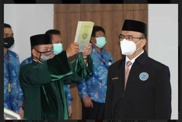 Kepala BNN Kabupaten Bogor baru Resmi bertugas